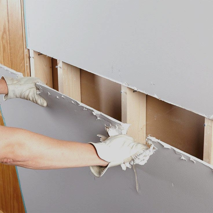 Drywall and sheetrock repair & installation