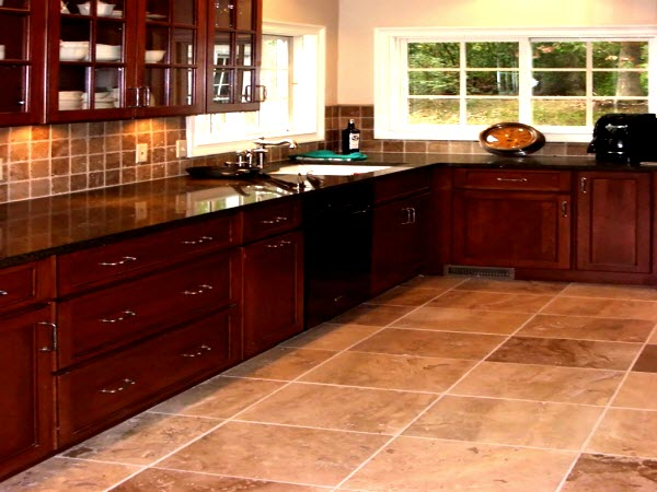 Kitchen Flooring in Houston