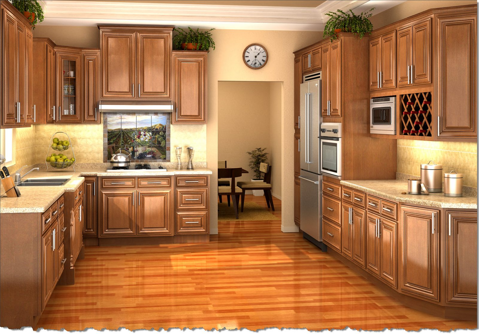 Houston kitchen cabinets affordable custom cabinets in for Stock cabinets