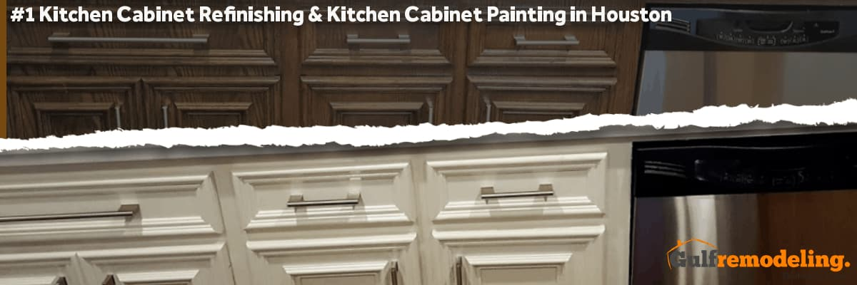 Cabinet Refinishing - Cabinet Painting | Houston, TX