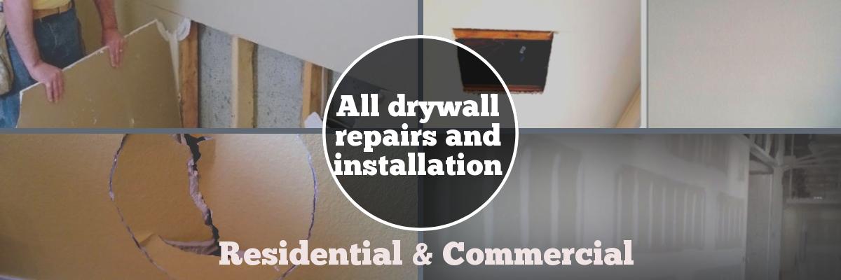Drywall Repair & Sheetrock Repair in Houston TX