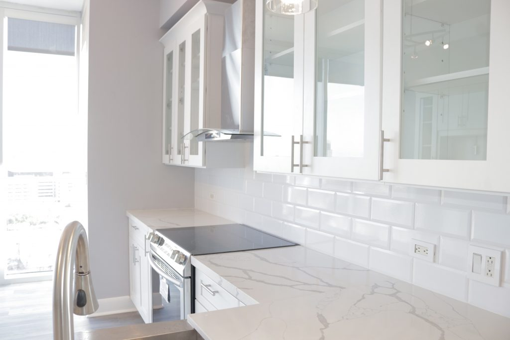 Kitchen Remodeling At The Royalton Highrise at 3333 Allen Parkway in Houston, TX
